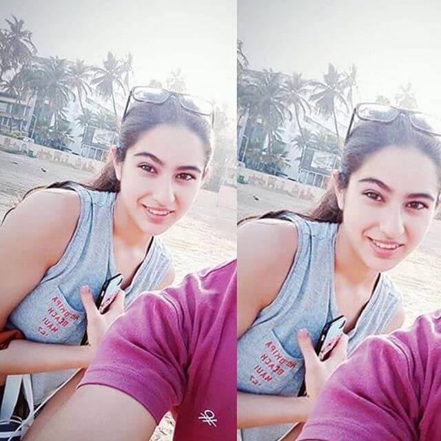 Sara Ali Khan hot selfie