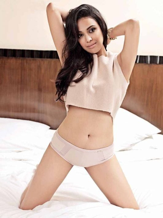 Swara Bhaskar Hot Bold Photoshoot For Maxim India Magazine Oct 2013