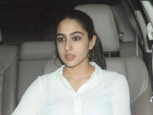 Saif Ali Khan's daughter Sara Ali Khan