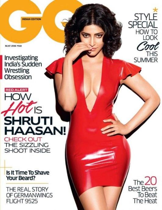 shruti haasan GQ India photoshoot pics (2)