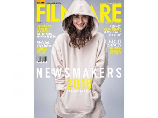 Alia Bhatt For Filmfare Magazine December 2016