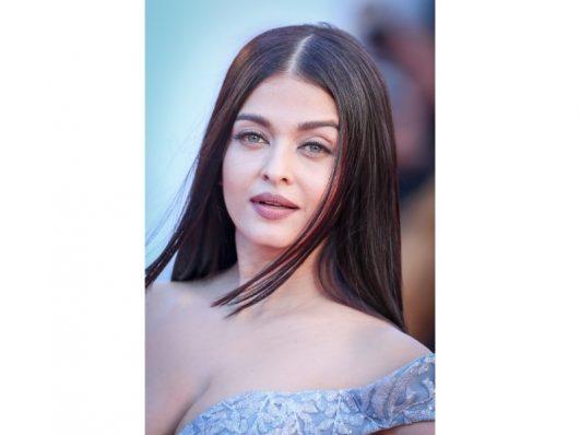 Aishwarya Rai Bachchan in a Blue At 70th Cannes Film Festival 2017