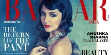 Anushka Sharma Harper's Bazaar Sensational Photoshoot