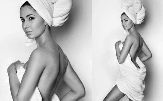 Katrina Kaif stars in Mario Testino iconic Towel Series