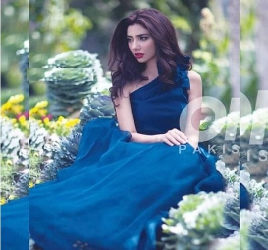 Mahira Khan hot HD photos Cover Of OK! Pakistan