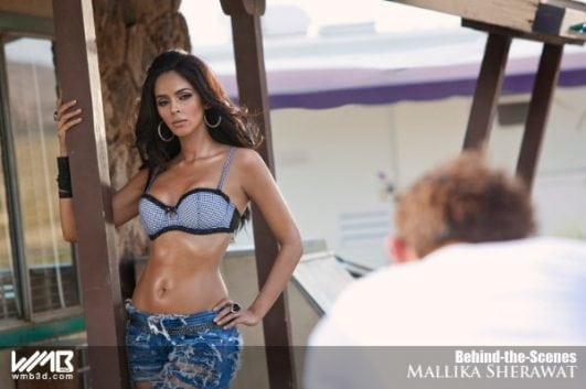 MALLIKA SHERAWAT HOT & SEXY PHOTOSHOOT IN BRA AND PANTY