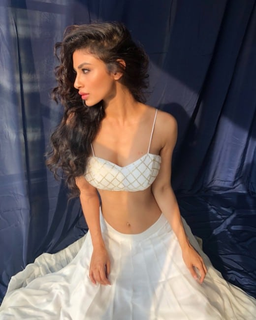 Mouni roy sexy looking bikini look