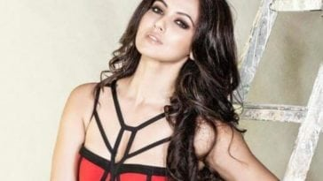 Sana Khan Latest Photoshoot For FHM Magazine Photos