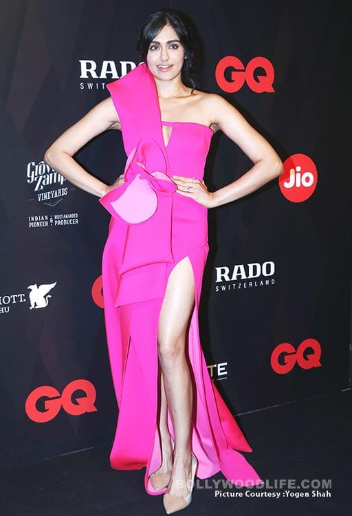 adah sharma at GQ Best Dressed 2017