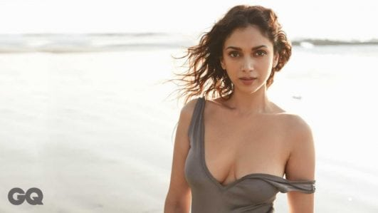Aditi Rao Hydari hot topless
