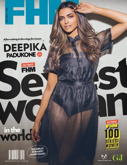 Deepika-Padukone-bikini look from FHM magazine cover