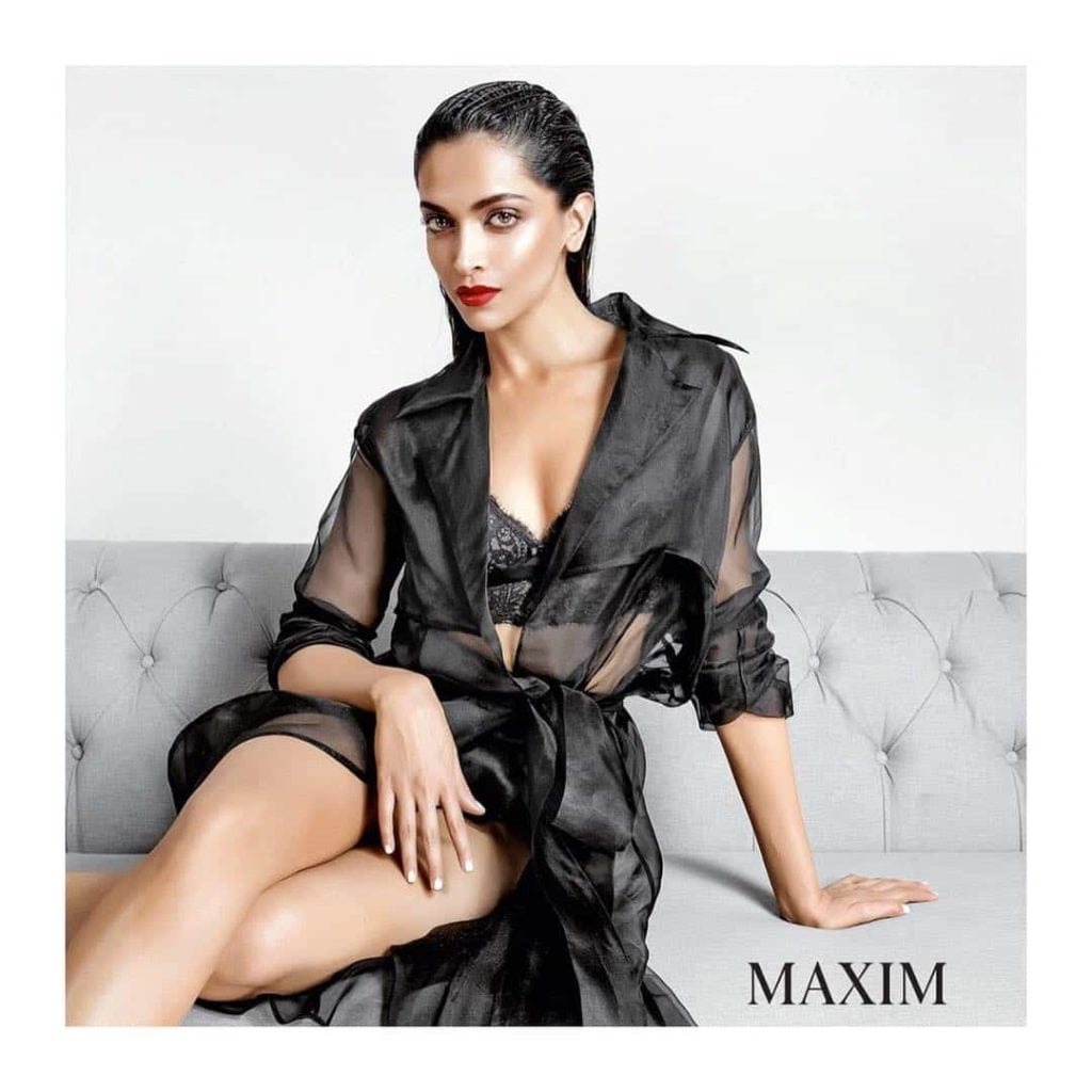 Deepika Padukone hot photo from her maxim photoshoot