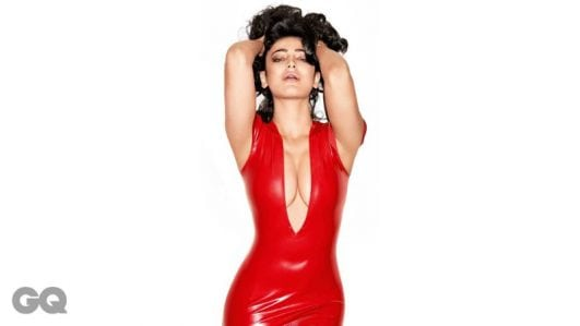 shruti haasan GQ India photoshoot pic