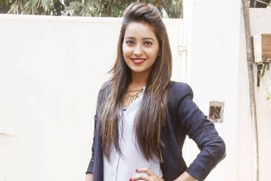 Asha Negi latest image from event