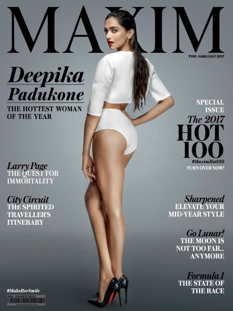Deepika Padukone Super Sexy Maxim India June 2017 Photoshoot 4