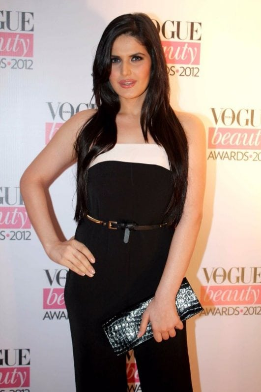 Hot Starts At The Vogue Beauty Awards 2012