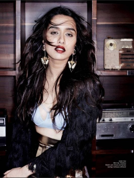 Shraddha Kapoor Filmfare cover hot photo