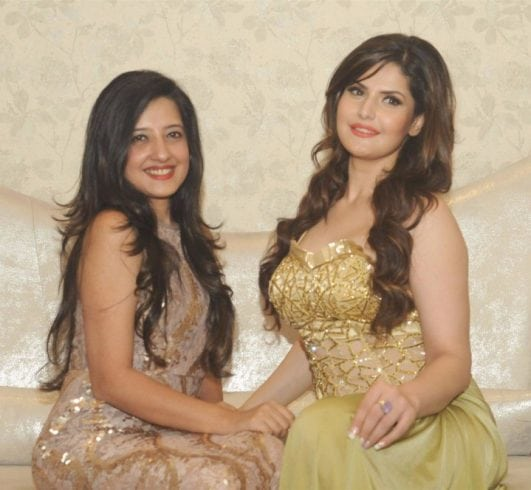 Zarine Khan Looks Irresistibly Sexy At Amy Billimoria's Eco Friendly Earth 21 Collection Launch In Santacruz, Mumbai
