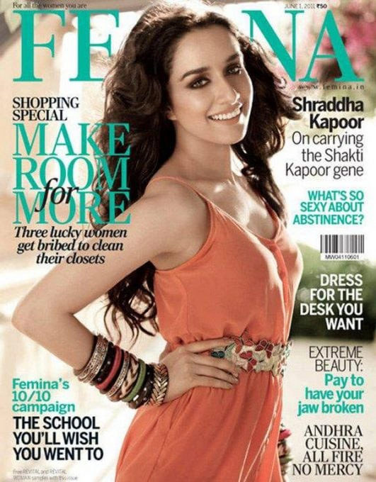shradha kapoor cover of femina