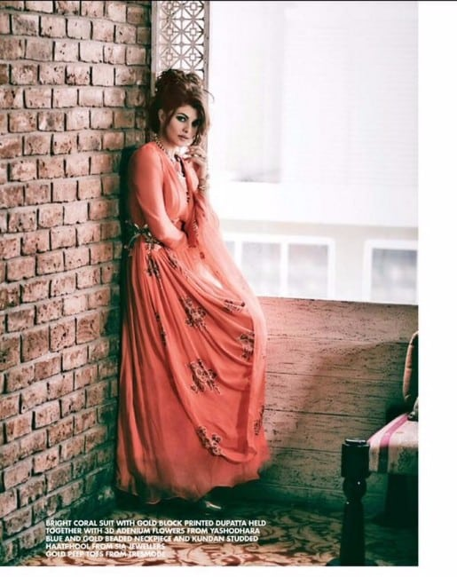 Jacqueline Fernandez poses for Cineblitz Magazine
