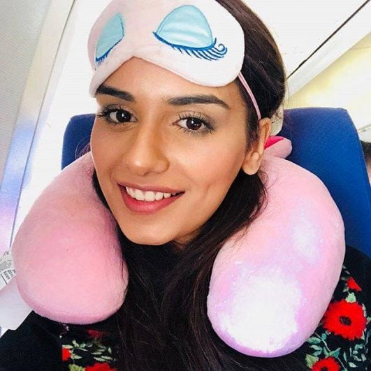 Manushi Chhillar latest sleep look miss world 2017