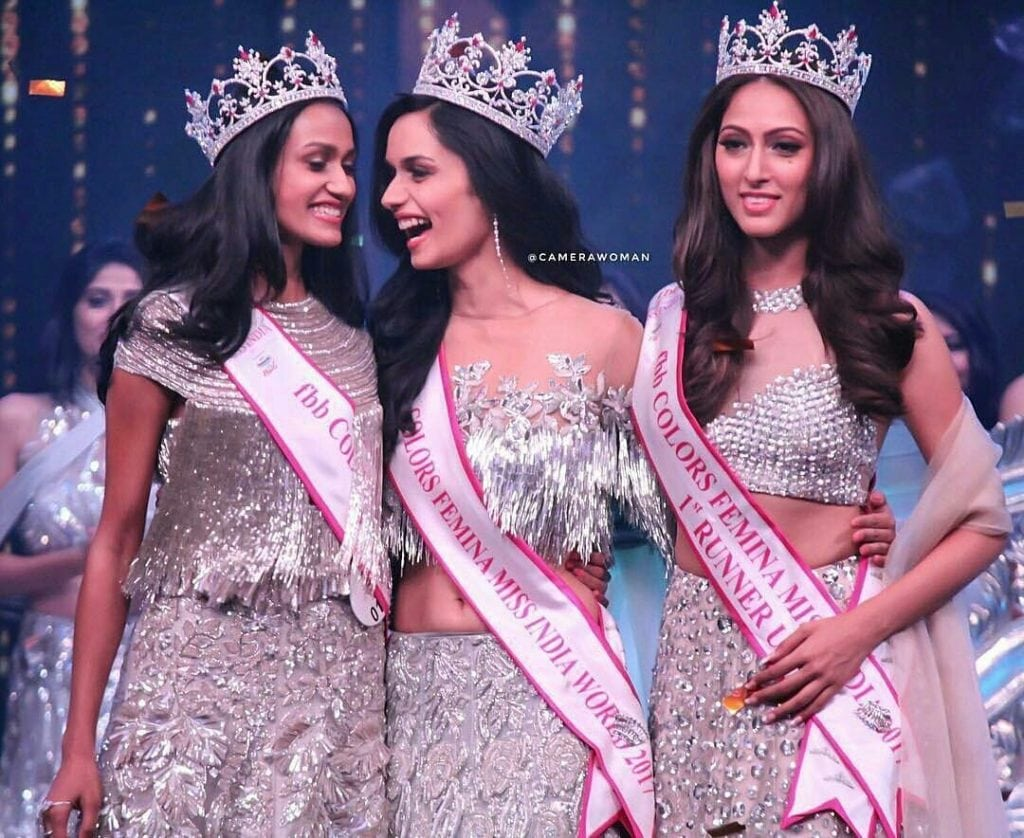 Manushi Chhillar miss india 2017