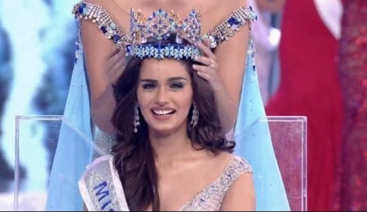 Manushi Chhillar miss world 2017