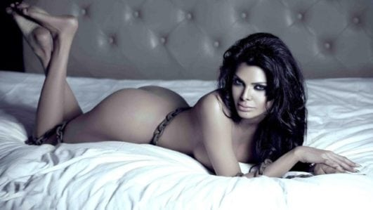 Sherlyn Chopra nude in bed