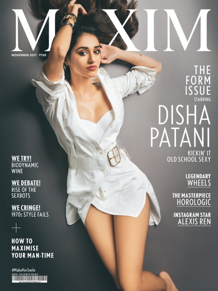 Disha Patani Latest Maxim Photoshoot : November 2017