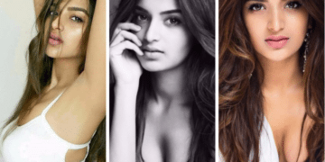 Nidhhi Agerwal 21 Best Hot Big Cleavage Show Boobs Bikini Latest Wallpapers Topless PHOTOS
