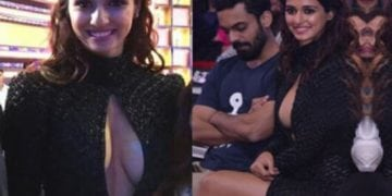 Disha patani boobs staired by man
