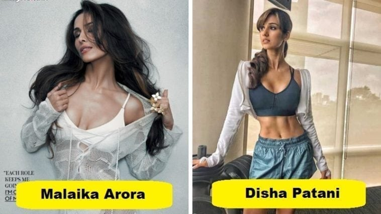 Malaika Arora and disha patni