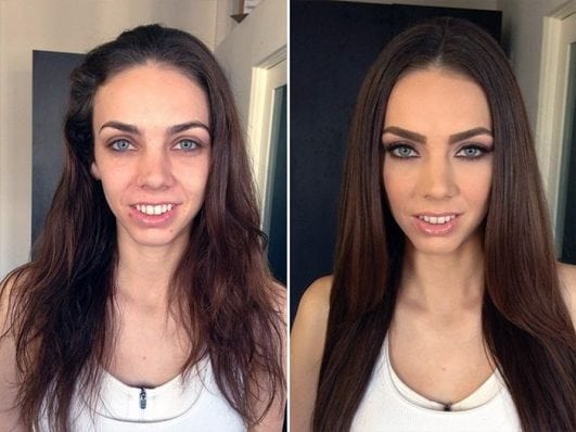 Photos Proving You Should Never Trust A Woman In Make Up