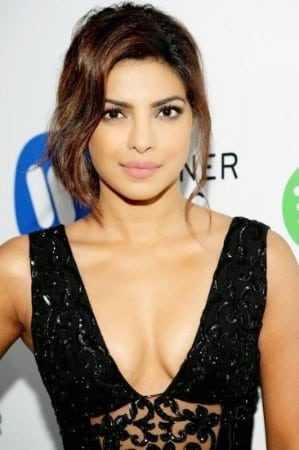 Priyanka Chopra hot cleavage boobs