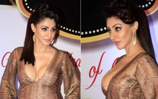 TV actress Reyhna Malhotra at the red carpet of Boroplus Gold Awards