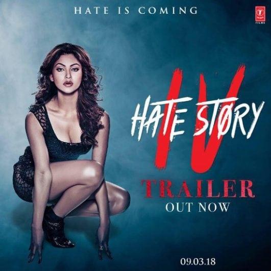 Urvashi Rautela hate story 4 poster