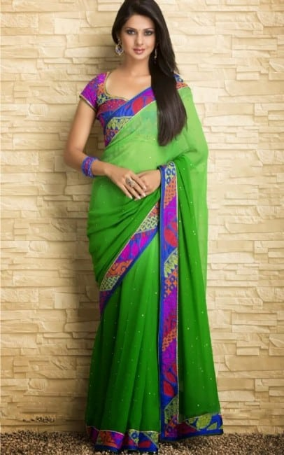 jennifer winget saree hot images