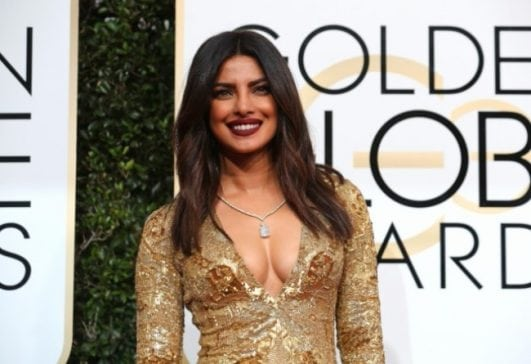 priyanka-chopra hot at golden globe