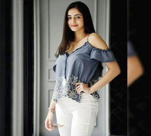 Ananya Pandey hot instagram latest photo