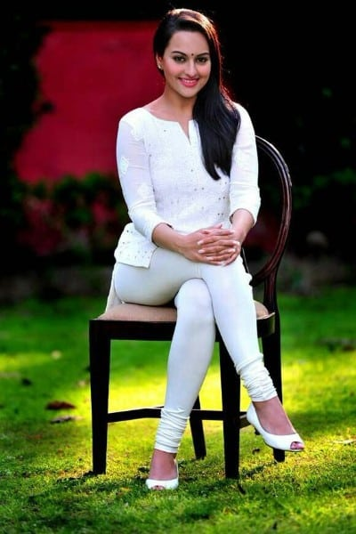 Sonakshi Sinha beautiful looking in white outfit