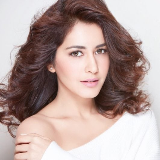 rashi khanna hot images in white dress