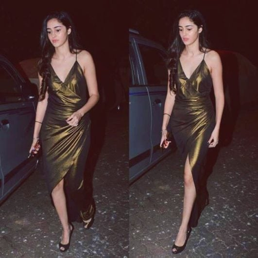 soty 2 actress hot Ananya Pandey instagram photo