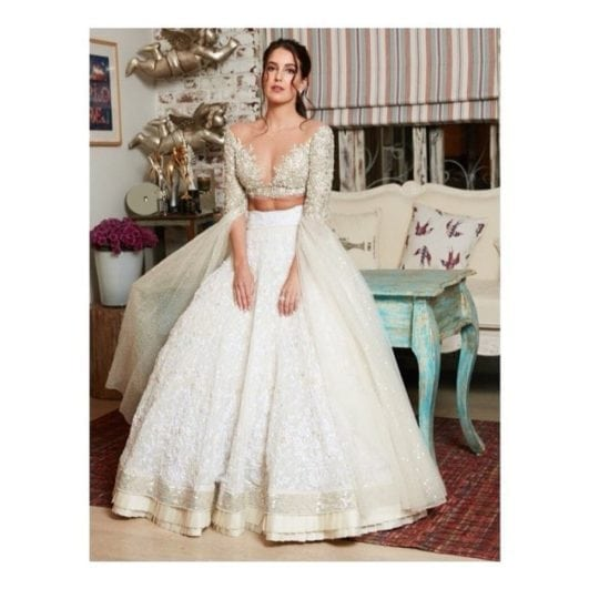 Isabelle Kaif in manish malhotra collection