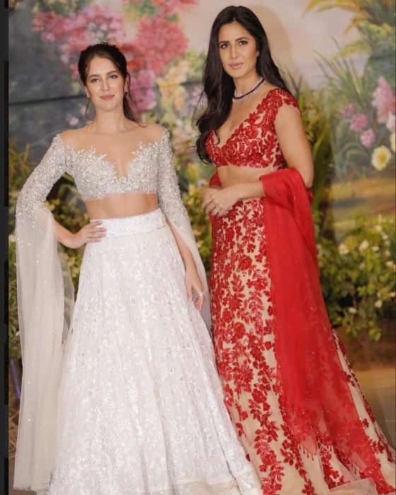 Katrina Kaif hot looking with her sister Isabelle Kaif at event