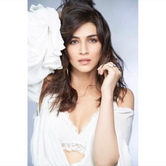 Kriti Sanon sexy photoshoot still from magazine shoot