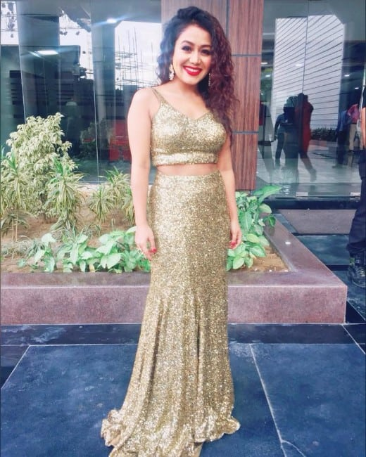 Neha Kakkar Hot Pics In Gagra Choli