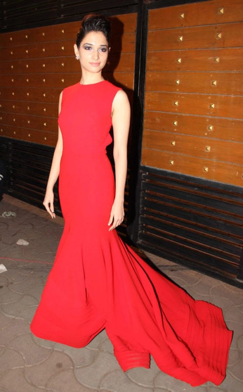 Tamanna Bhatia Beautiful in red