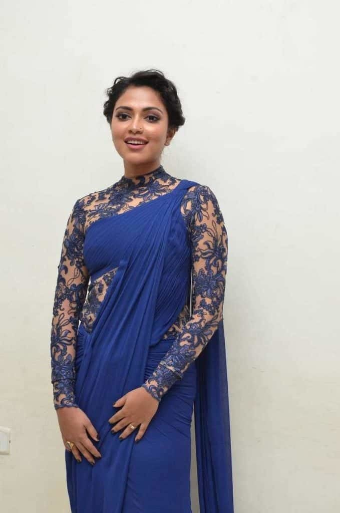 amala paul saree look at event-min