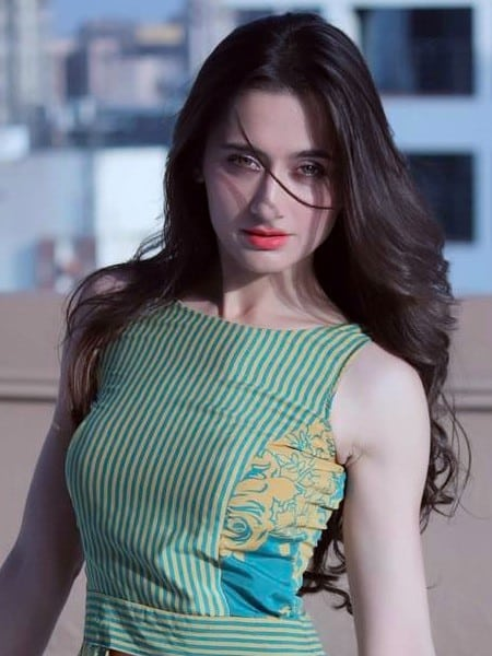 sanjeeda sheikh hot boobs show in sexy dress