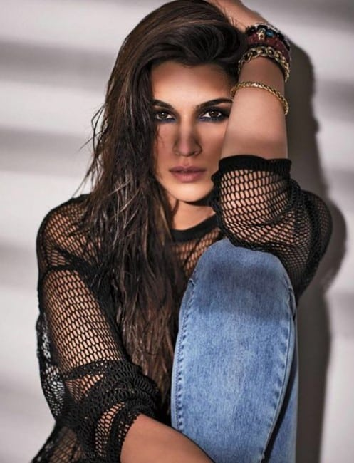 sexy kriti sanon image from her magazine photoshoot